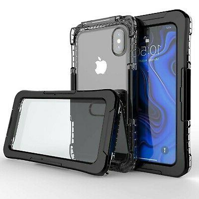 iPhone Xs Max Waterproof Case, Underwater Protective ... New