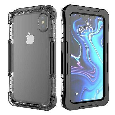iphone xs max waterproof case ip68 outdoor