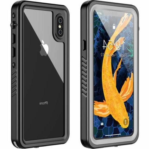 iphone xs x waterproof case military grade