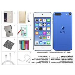 Apple iPod Touch 16GB Blue 6th Generation Extra Accessories