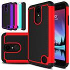 For LG Fortune/Rebel 2/Phoenix 3 Case Hybrid Hard Shockproof Rubber Phone  Cover