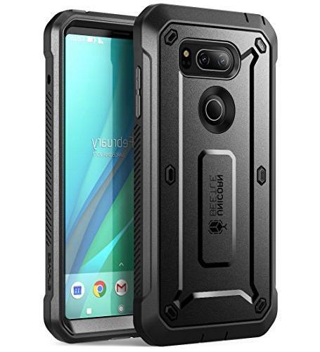 more photos 201ac 733f5 SUPCASE LG V30 Case, Full-Body Rugged Holster Case