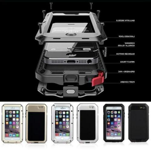 Luxury Shockproof Powerful outdoor protection Metal PHONE CA