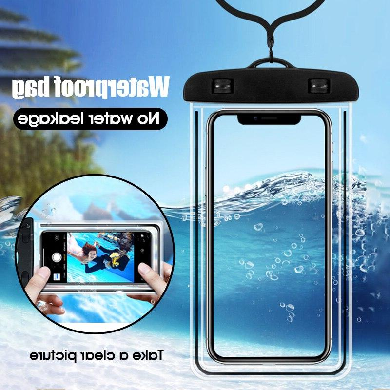 Mobile phone universal bag Dry <font><b>Case</b></font> For Phone Beach Pool inch