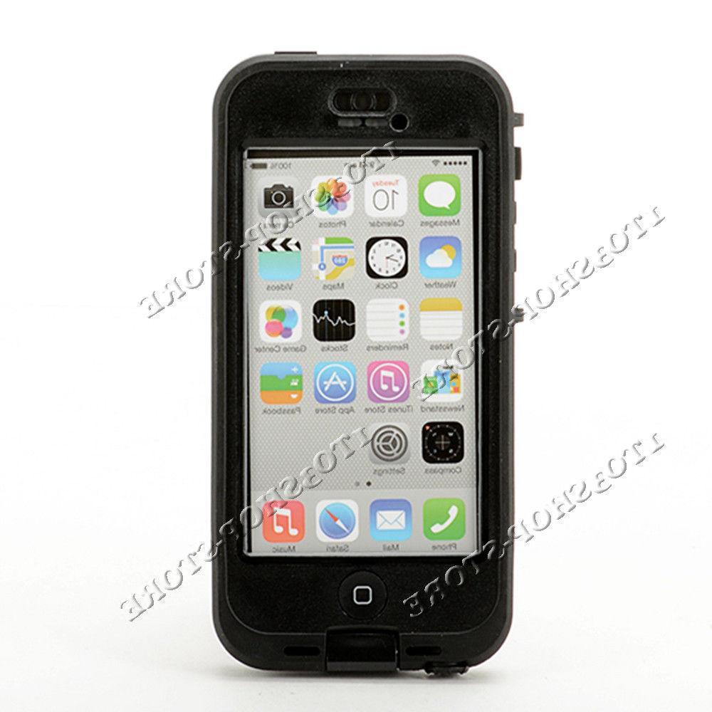 LifeProof Nuud Hard Case 5c Black White/Gray