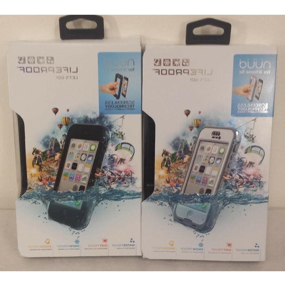 nuud waterproof shockproof hard case for iphone