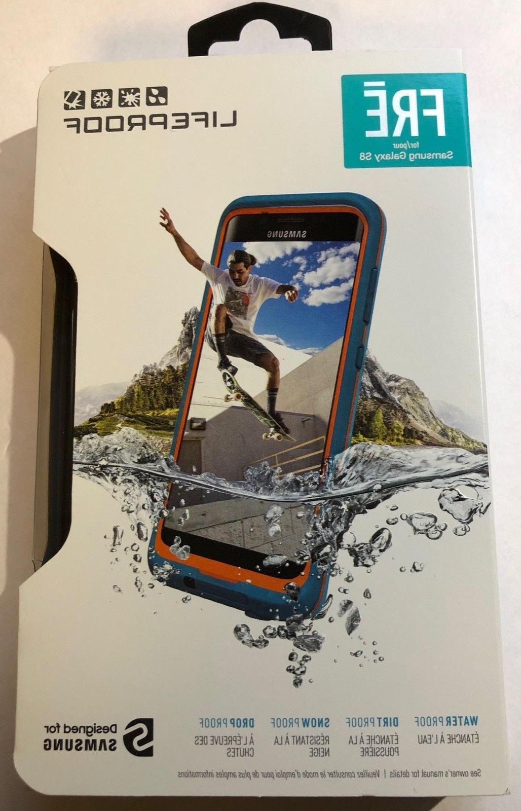Open Box Lifeproof FRE Waterproof Case for Samsung Galaxy S8