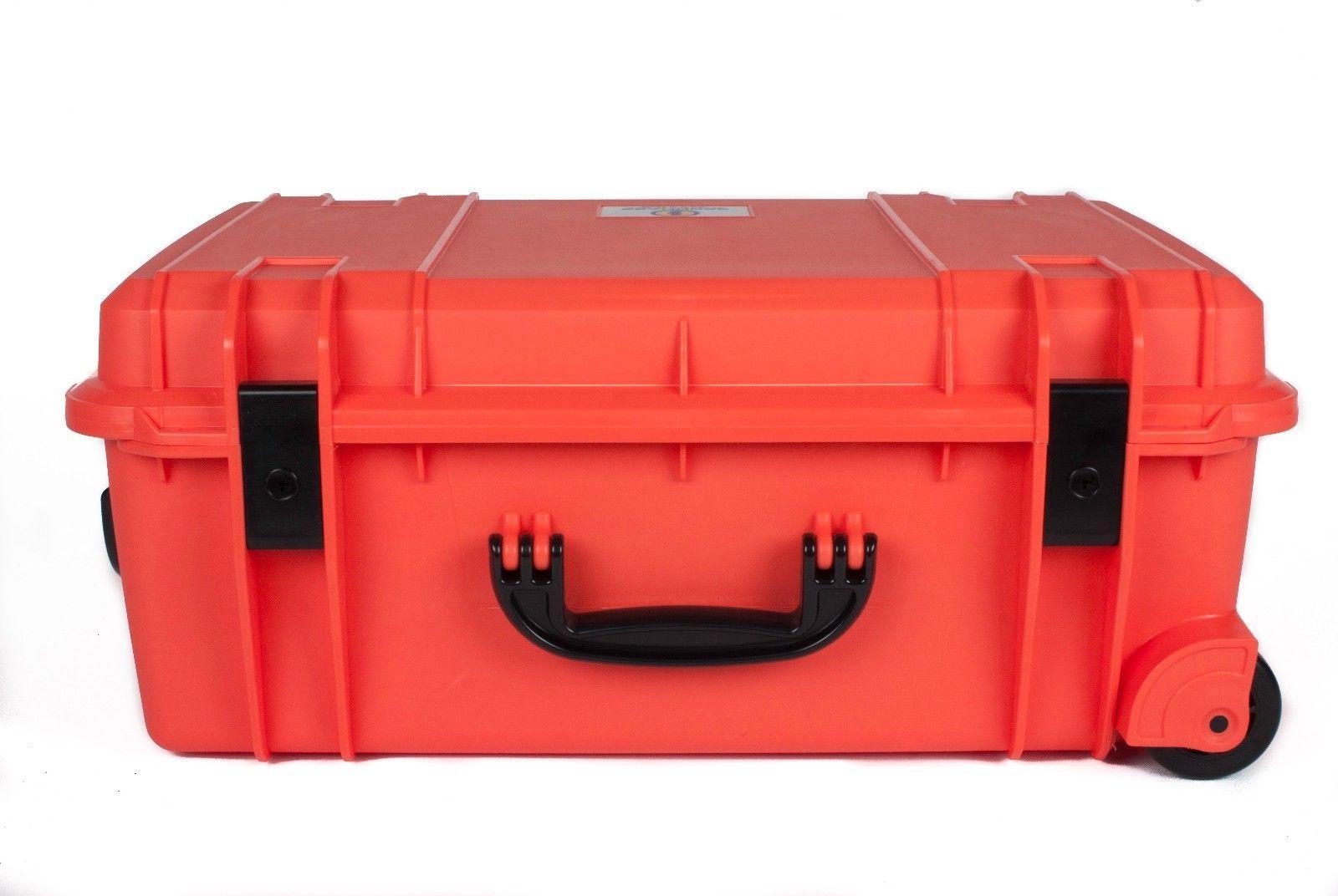 Orange Case. With TSA-
