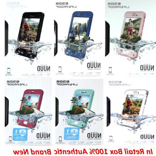 Original LifeProof Nuud WaterProof Case For iPhone 6 / 6s /