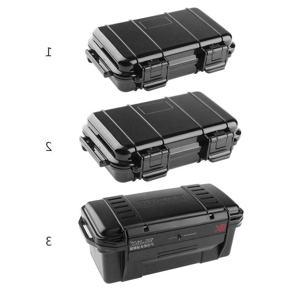 Outdoor Survival Container Storage Case Sealed Waterproof Sh