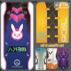 Overwatch D.Va Mercy Genji Tracer SYMMETRA phone case cover