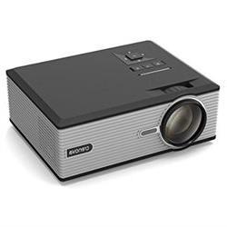Projector, Crenova XPE470 Mini Projector 130Support HD 1080P