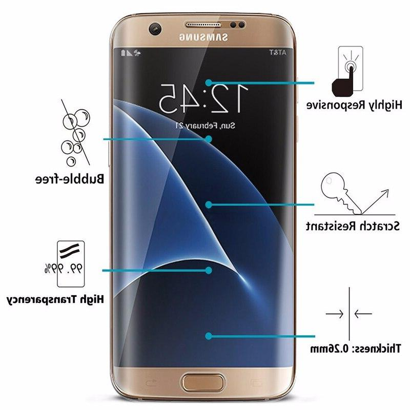 Protective S9 S6 S7 Edge Screen Protector Full Curved 9S <font><b>S</b></font> 8 9 <font><b>7</b></font> S8Plus