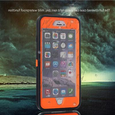 For iPhone 6 Plus SE Hybrid Full Duty Waterproof Cover