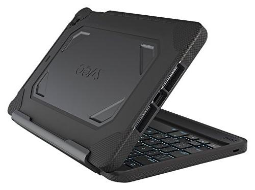 Zagg Rugged Book Durable Case With Detachable Backlit
