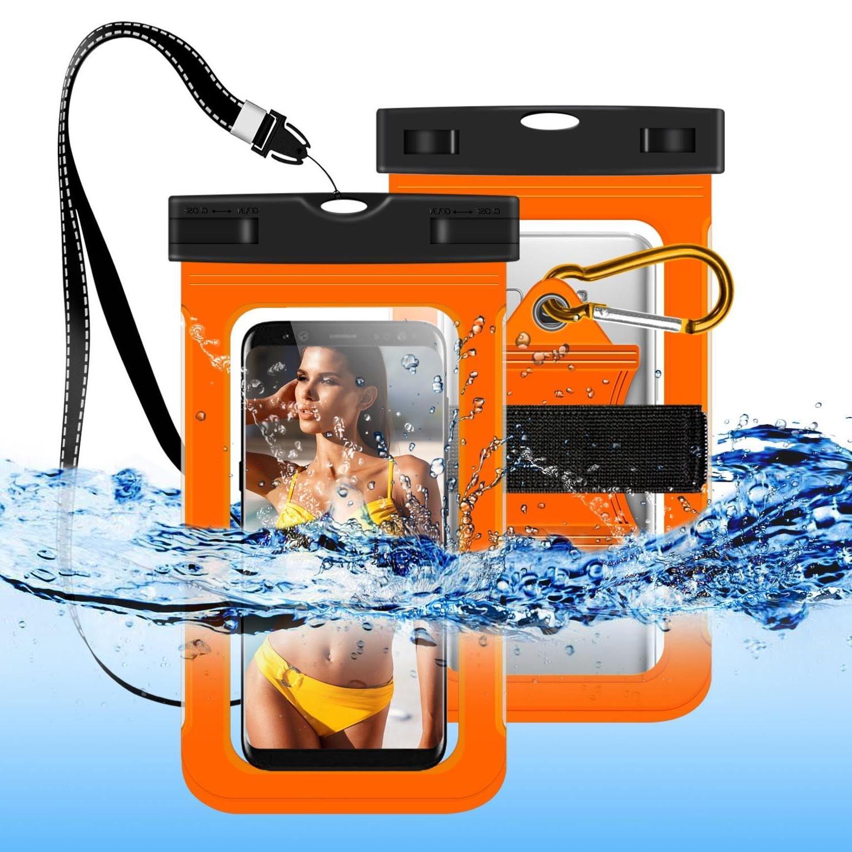 For Samsung Galaxy J7 Crown/Star/J3 Achieve/Orbit Waterproof Pouch