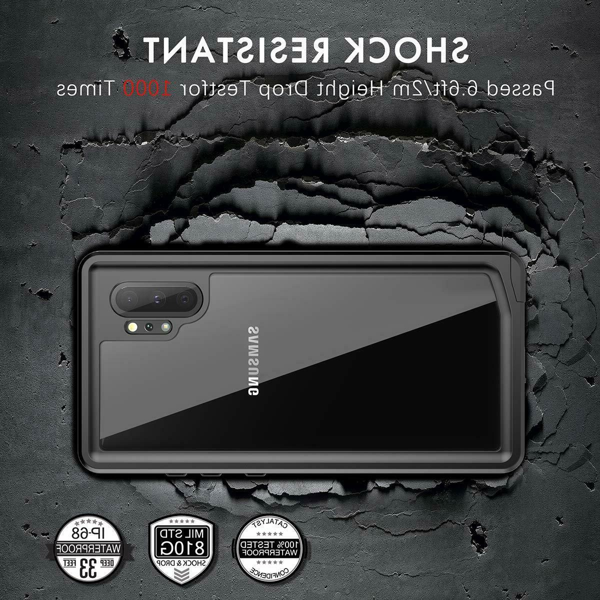 For Samsung 10 Plus Waterproof Cover Built-in Screen