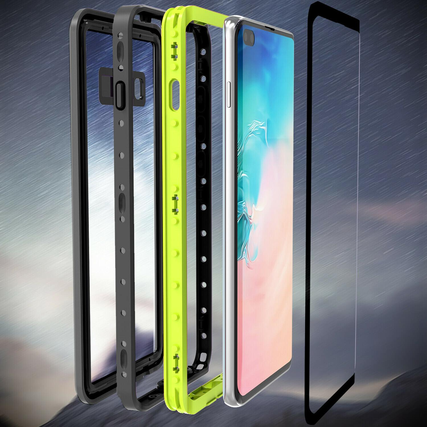 For Samsung Galaxy S10 Plus Waterproof Built-in