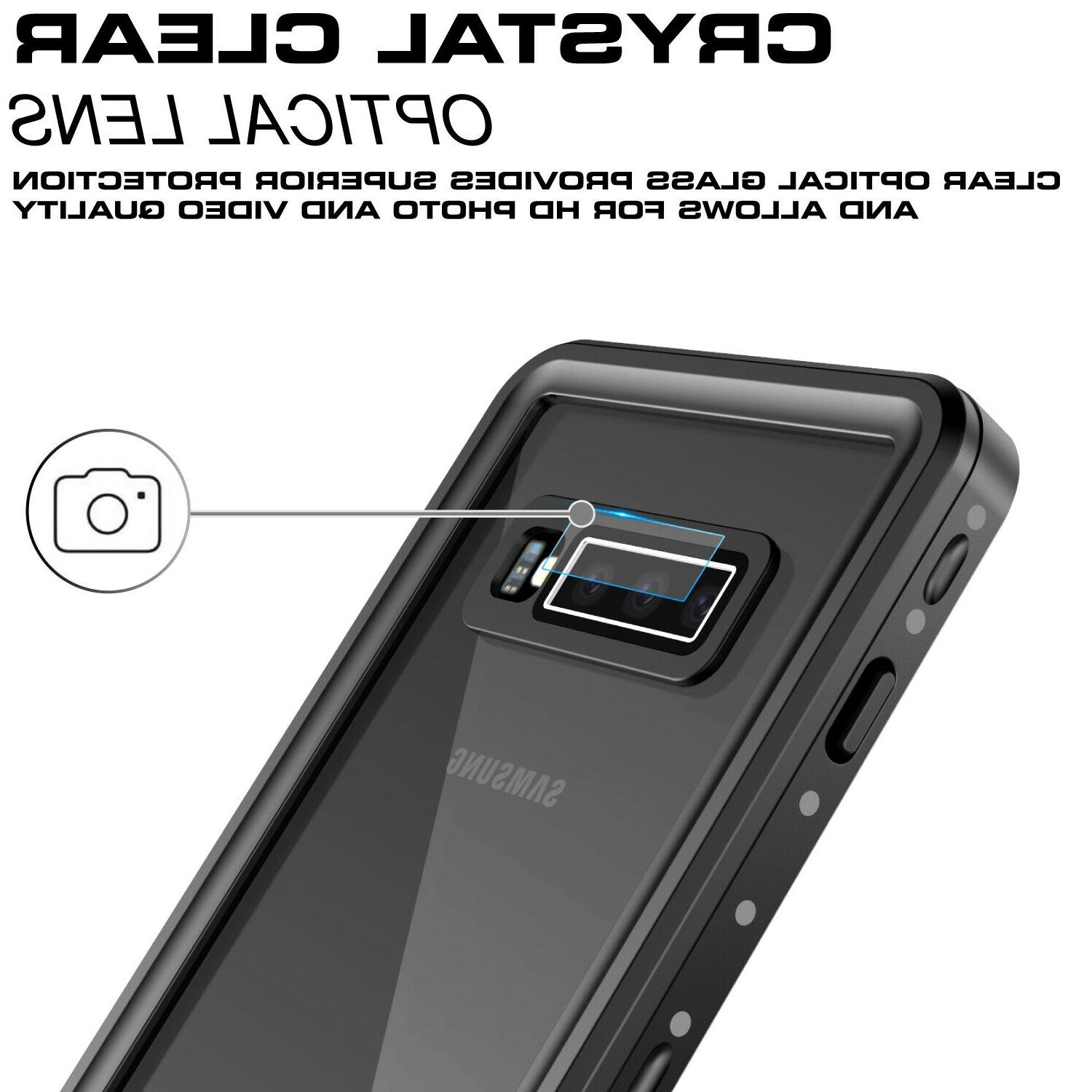 For Galaxy S10 Plus Waterproof Case Shockproof Built in