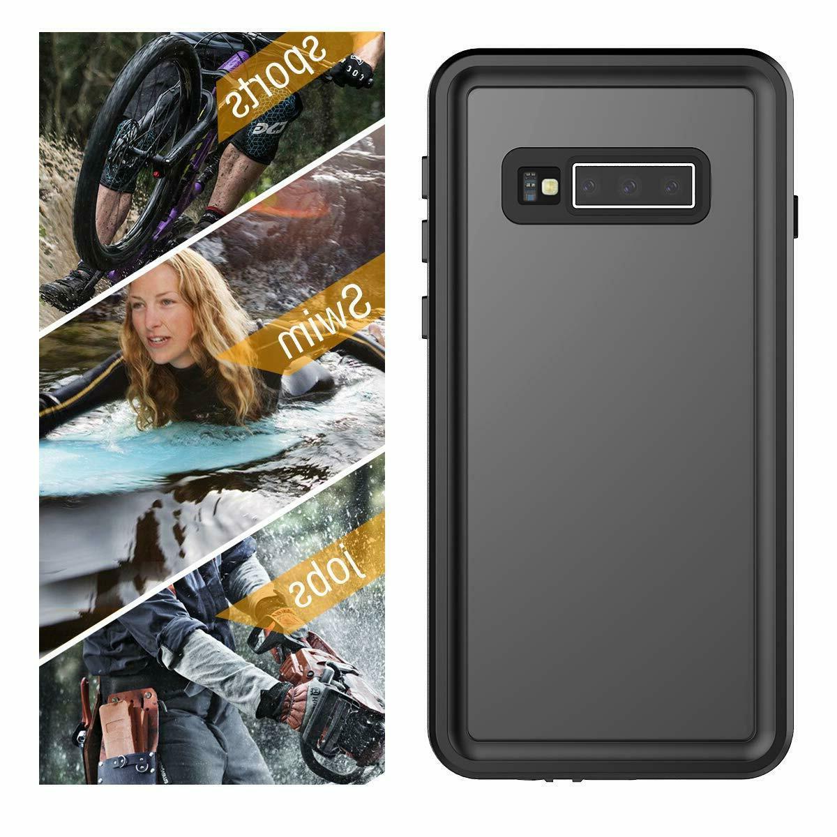 For Samsung Plus Waterproof Shockproof Built-in Screen