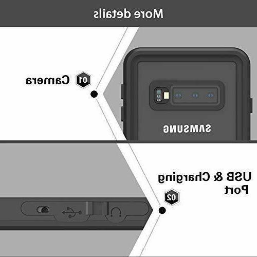 For Samsung Plus Waterproof Case Built-in