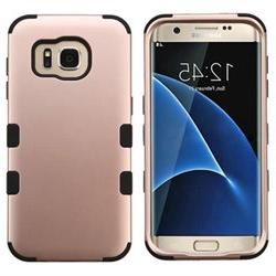 Samsung Galaxy S7 Edge G935 Hard Cover and Silicone Protecti