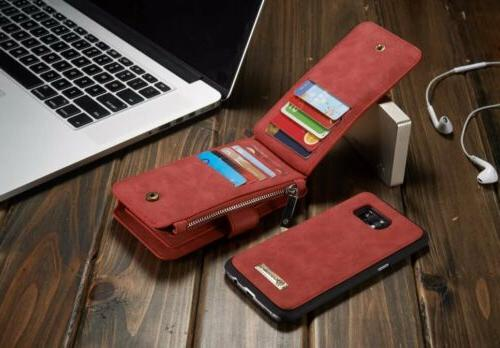 For S7 Flip Card Phone Cover