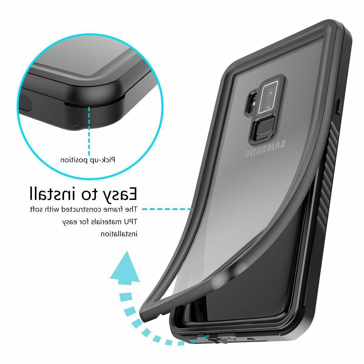 For Galaxy Plus Waterproof Case with Screen
