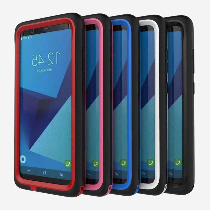 For Galaxy Plus Case Cover with Built-in Screen
