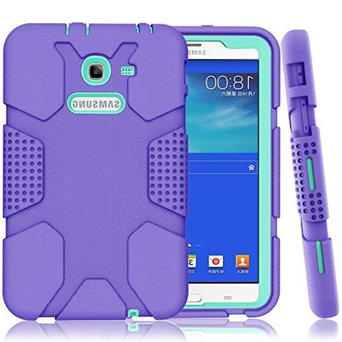 super popular 0cca2 f225e Samsung Galaxy Tab E Lite 7.0 Case, Galaxy Tab 3 Lite 7.0 Case, Hocase  Rugged Heavy Duty Kids Proof Protective Case for SM-T110 / SM-T111 /  SM-T113 / ...