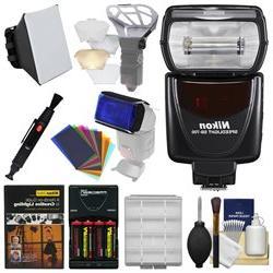 Nikon SB-700 AF Speedlight Flash with Soft Box + Diffuser Bo