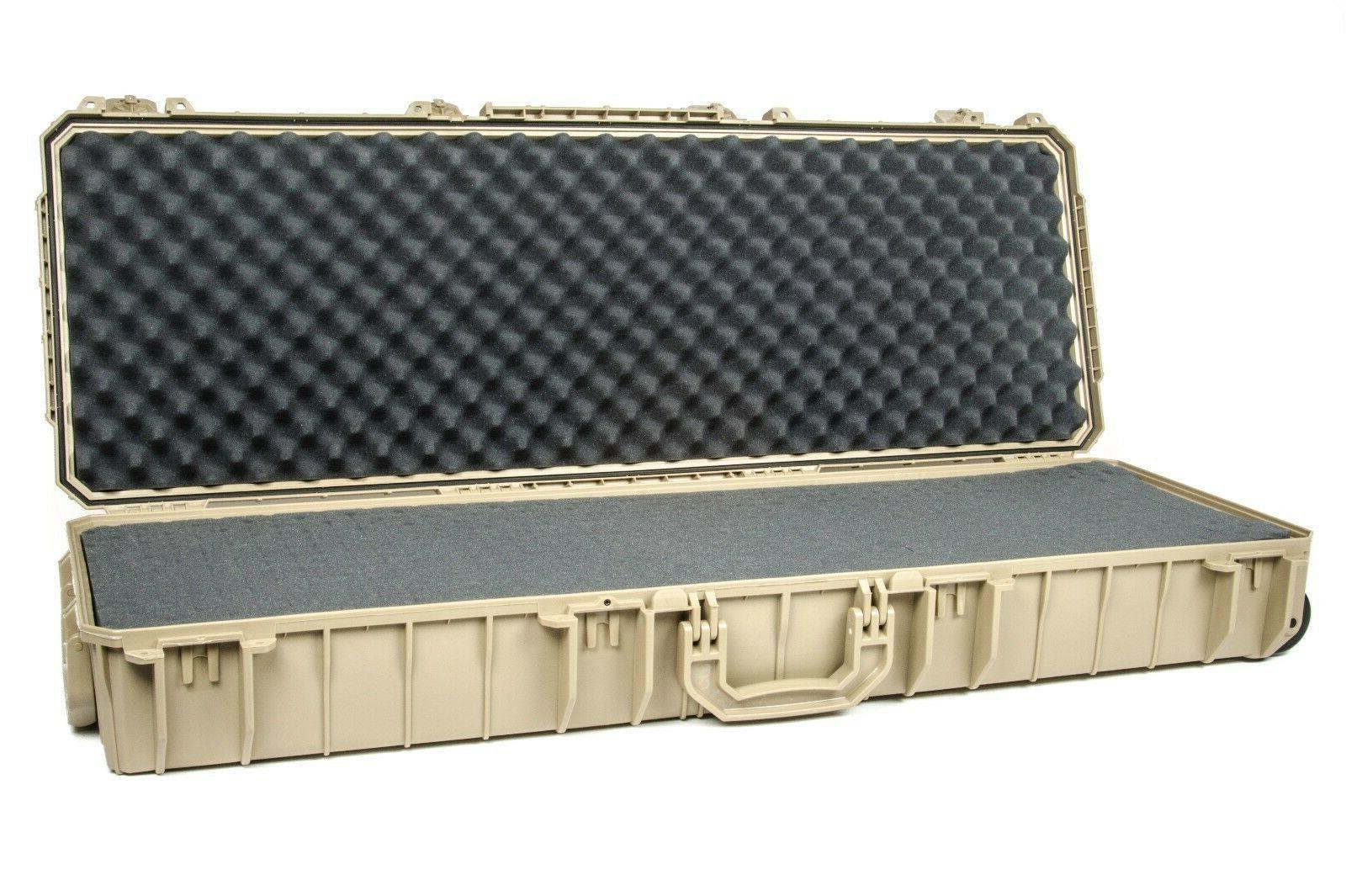 Seahorse SE1530F TAN Gun case. With foam  &  Pelican 1720 Lo