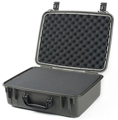 Seahorse Case Foam Metal Gray