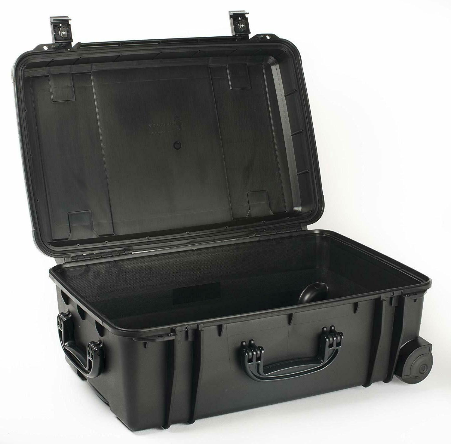 se920 waterproof hard sided locking travel case