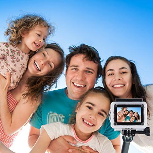 Apeman Selfie Extendable Aluminum Monopod Perfectly Cameras, Smartphones,