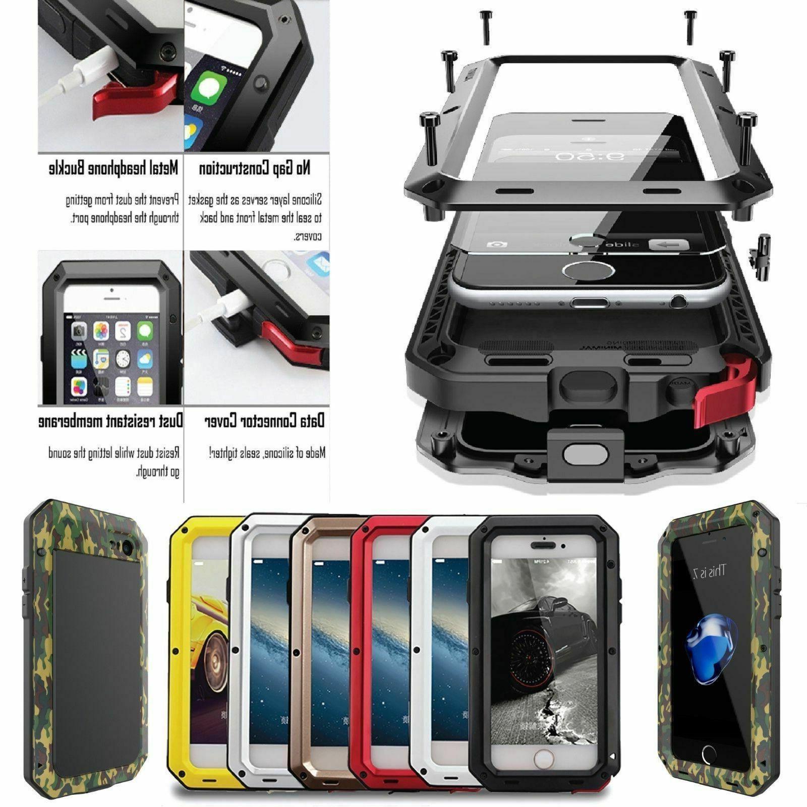 U.S Aluminum Defender Shock Waterproof Metal Case Cover For