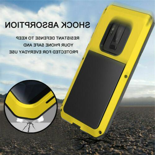 Shockproof Case Waterproof Aluminum Cover For Samsung Note9
