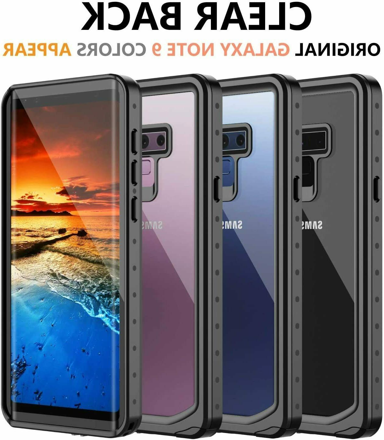Shockproof Snowproof Waterproof for Note 9 Screen Protector