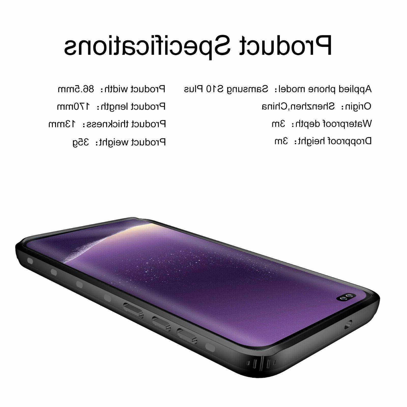 Shockproof Waterproof Plus Built-in protector Clear
