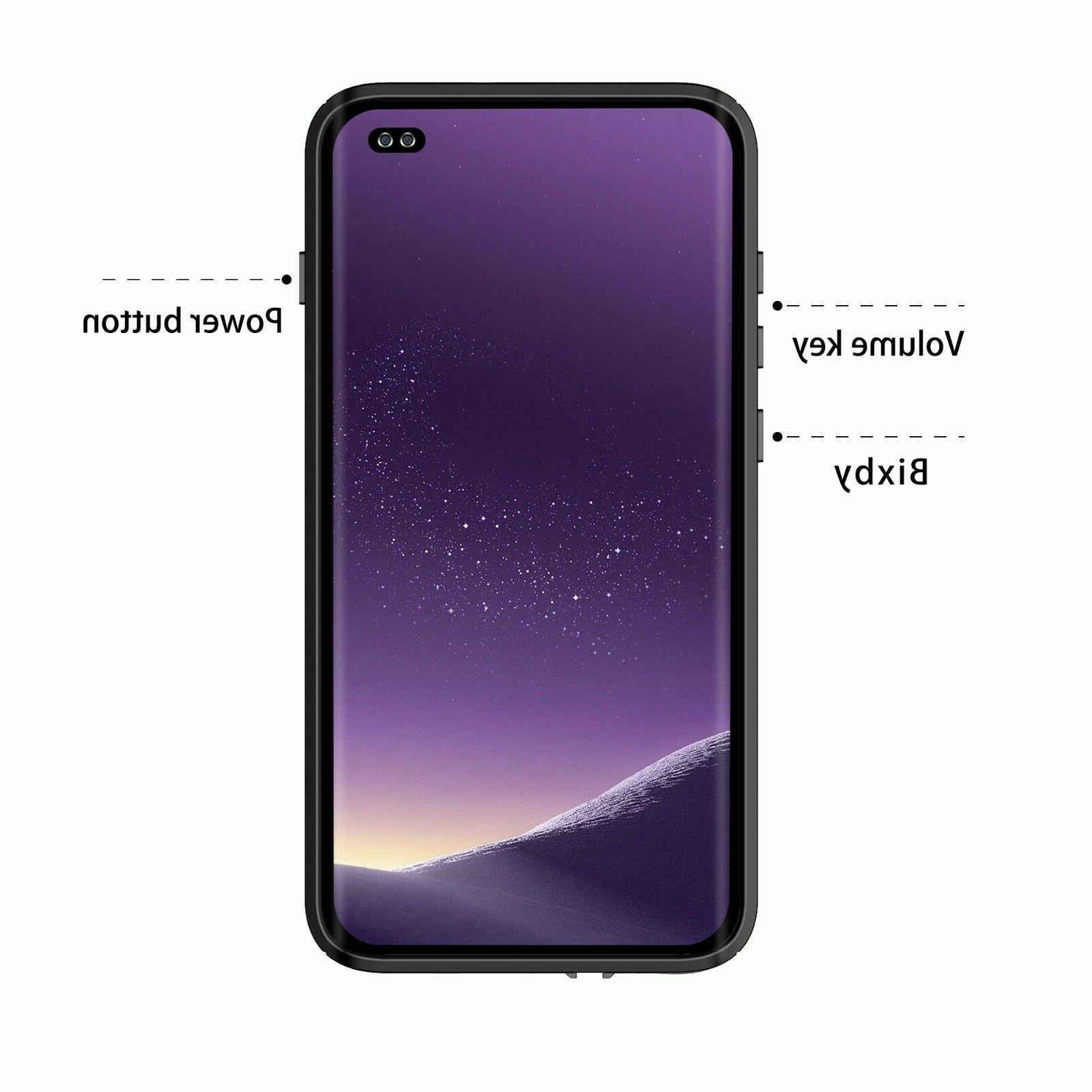 Shockproof Galaxy Plus protector Clear Cover