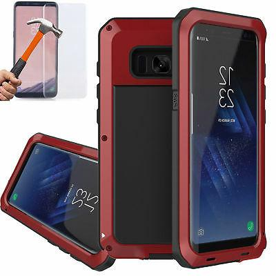 Shockproof Gorilla Metal Case Galaxy S8 9