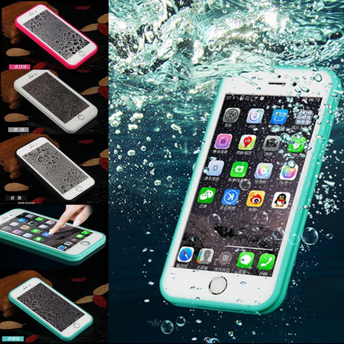 iPhone XS Max XR X 8 7 6 Plus Waterproof Shockproof DirtProo
