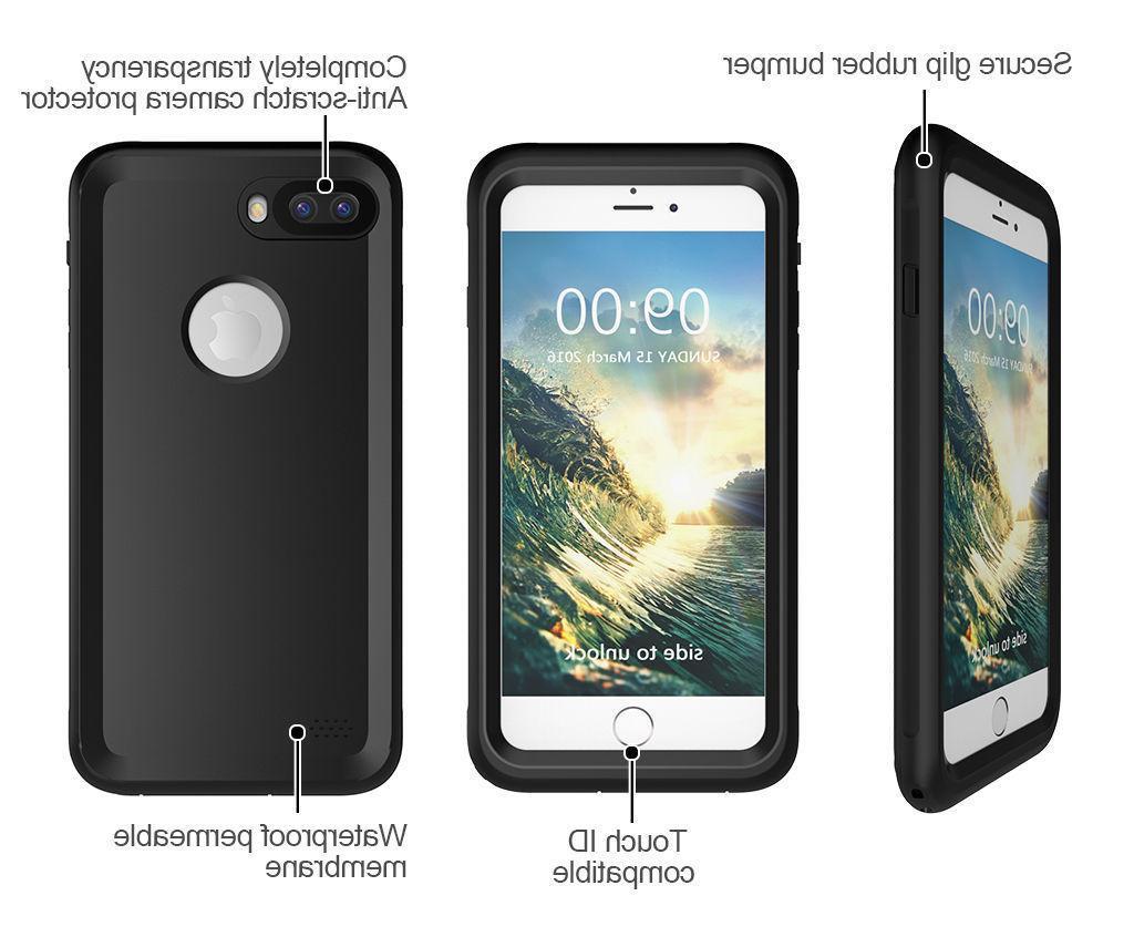 Slim Waterproof Duty Hard Cover for iPhone 6S Plus