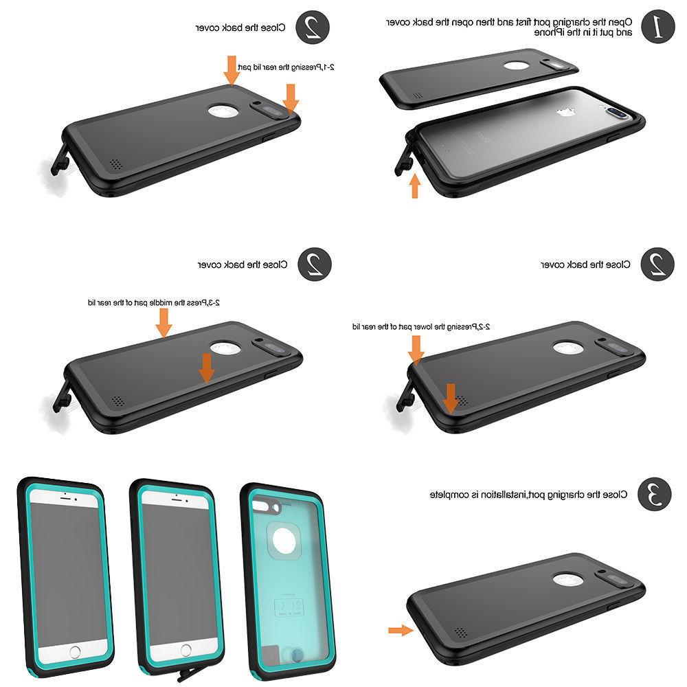 Slim Heavy Duty Hard Case Cover for X 6S 7 8