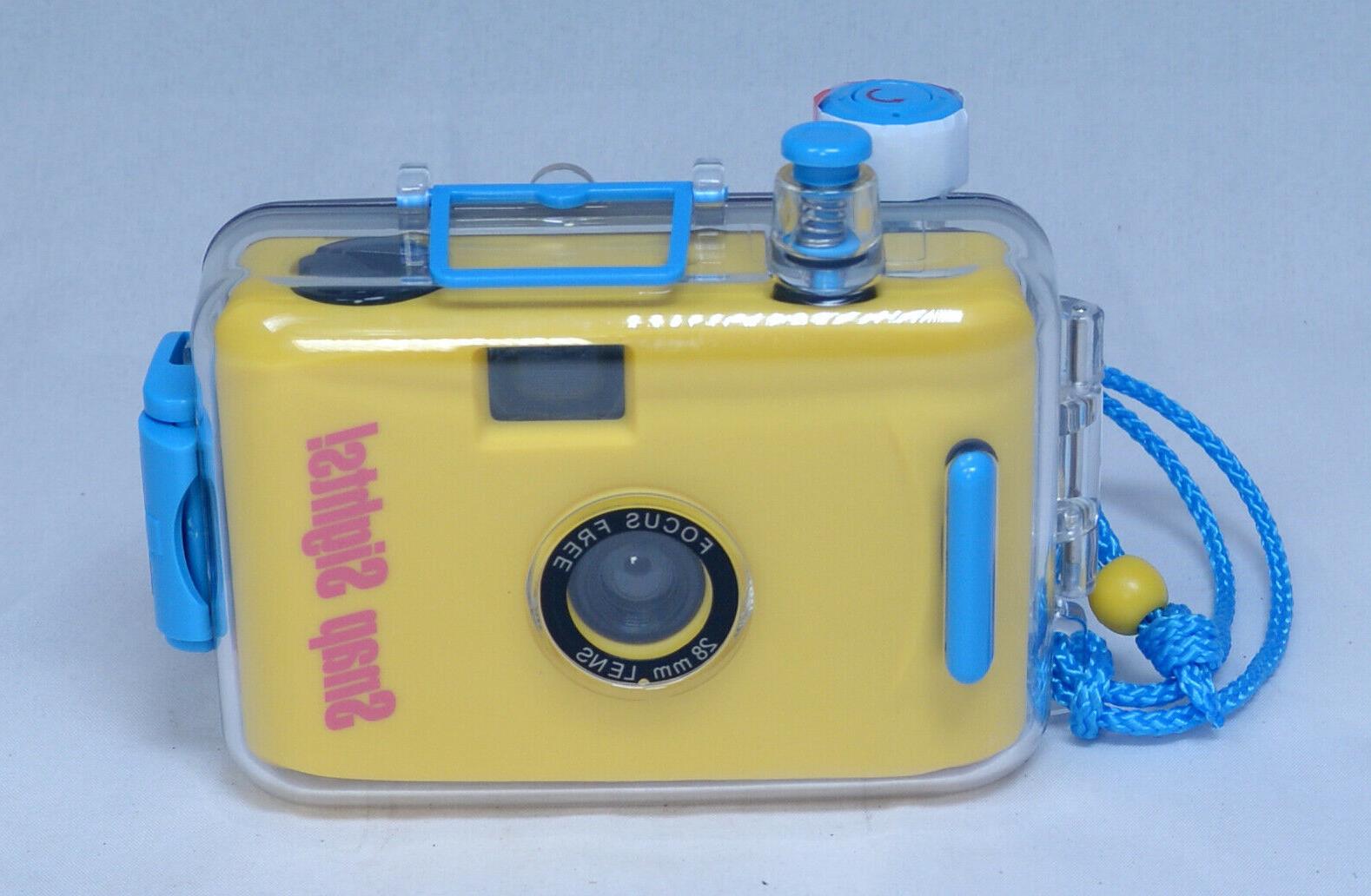 snap sights compact 35mm film camera waterproof