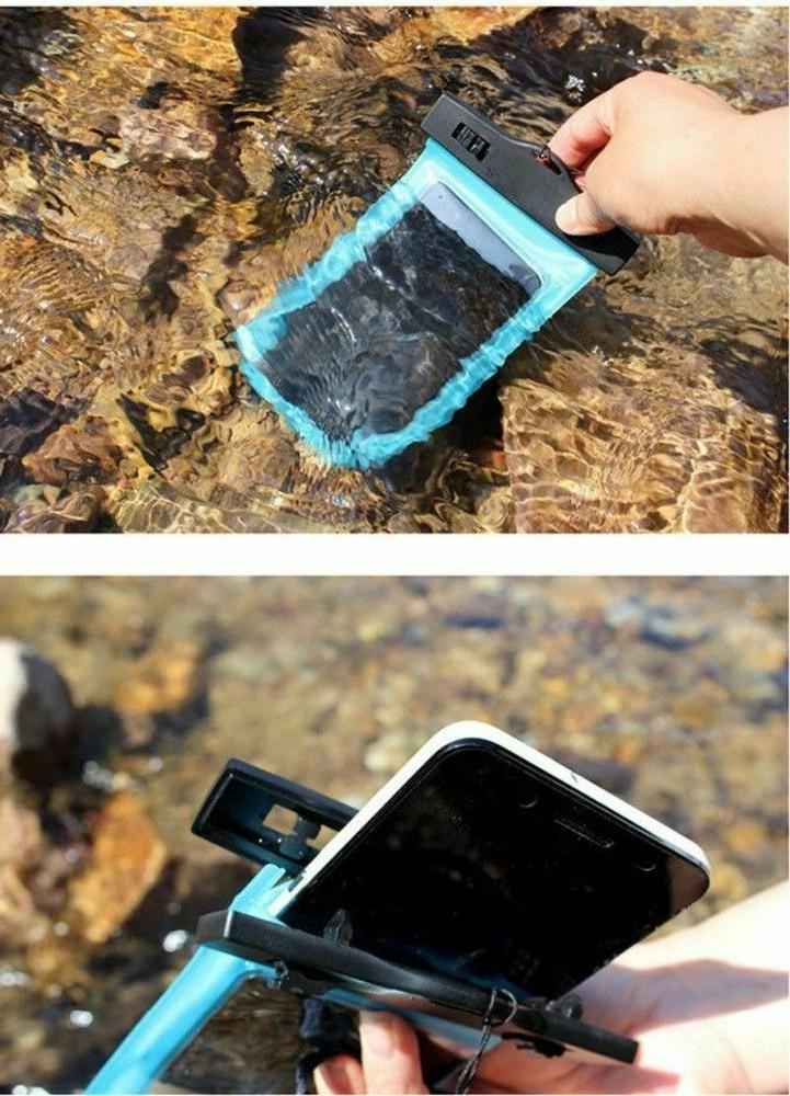 2 Underwater Pouch Bag Pack Dry Case Phone