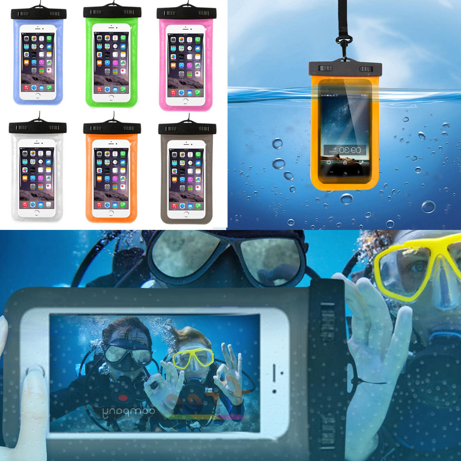 2 Underwater Pouch Bag Pack Dry for Phone