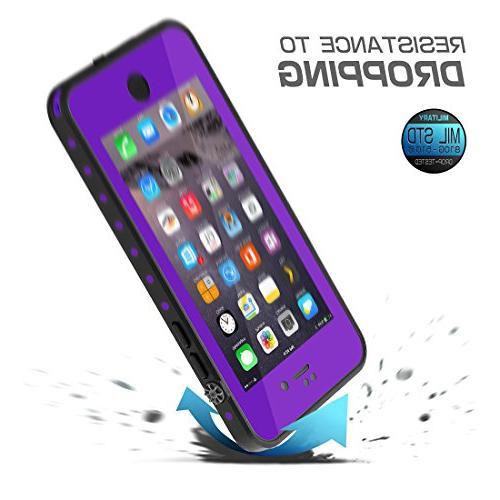 HESGI Thin Waterproof Case Apple 7 Purple