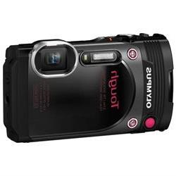 Olympus Tough TG-870 16 Megapixel Compact Camera - Black - 3