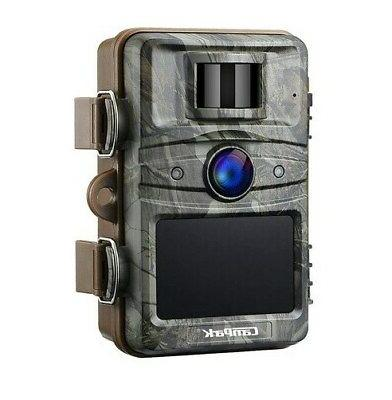 Campark Trail Camera 14MP 1080P HD Game Hunting Cam 940nm 44